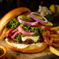 Chimichurri-Burger
